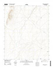 USGS 7.5-minute image map for Orndorff Ranch, New Mexico