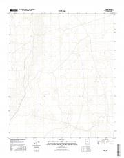 USGS 7.5-minute image map for Pope, New Mexico