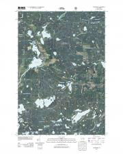 USGS 7.5-minute image map for Townsend WI - The National Map