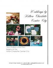 wedding packages - Hilton Charlotte Center City