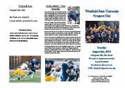 Westfield State University Prospect Day